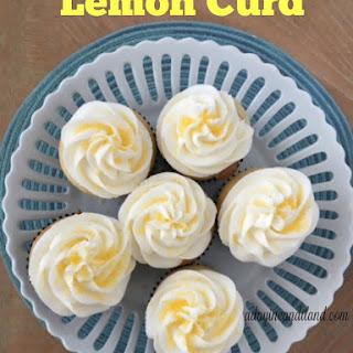 Sunny Lemon Lime Cupcakes