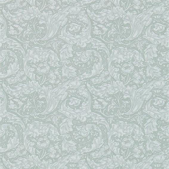 Bachelors Button Tapet - silver
