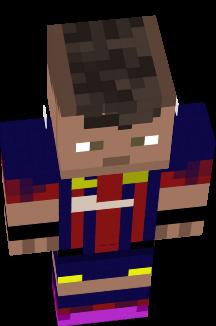 Neymar Nova Skin - Skin para minecraft pe de neymar