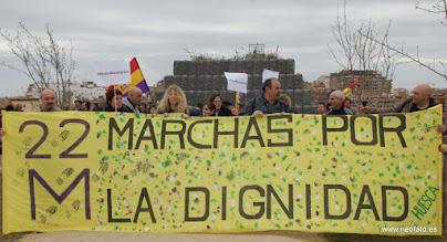 Photo: Marcha de la Dignidad. Huesca. 21.03.2015 Se inicia la marcha