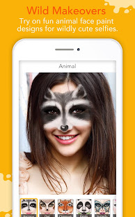 Screenshots of YouCam Fun - Snap Live Selfie Filters & Share Pics for iPhone