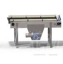 Photo: Gas Vapor S.L. - www.gv.iei.es Instalación de Maquinaria Alimentaria-Mesa de Acumulacion