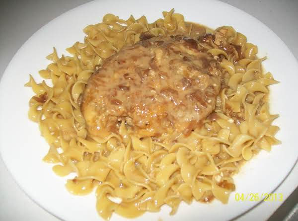 Chicken Fried Chicken With Noodles