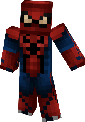 The Amazing Spiderman Nova Skin - Skins para minecraft pe de spiderman