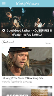Worship Videos- screenshot thumbnail