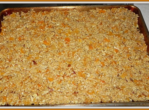Stir the coconut and almonds into the apricot mixture along with the oats and...