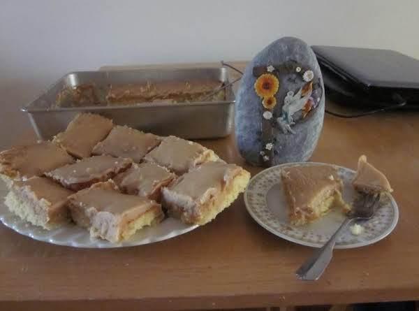 School-time Peanut Butter Cake