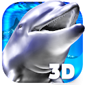 Ocean 3D Dolphin Live Wall icon