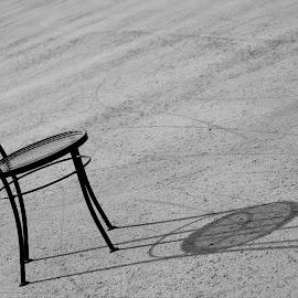 by Kaushik Bera - Black & White Abstract