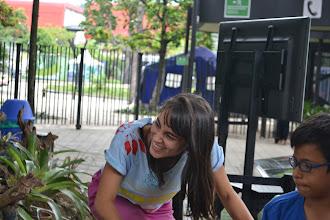 Photo: Mujer en Bici pedalea