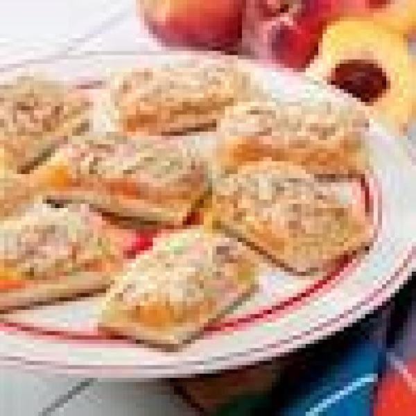 Peaches And Cream Bars Recipe