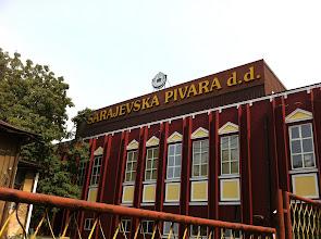 Photo: Sarajevska Pivara Brewery in Sarajevo since 1864.