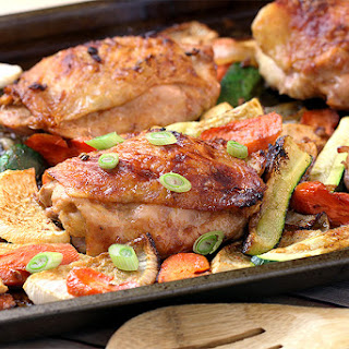 One Pan Baked Chicken Thighs