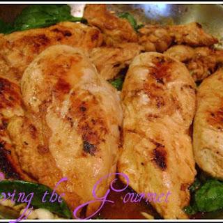 Chicken Breast With Fresh Spinach
