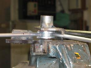Photo: Réalisation de la cintreuse pour tube de 6mm