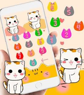 Lucky Kitty Cat Theme Meow - náhled
