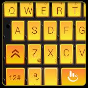 Gold Mechanical Style Keyboard Theme
