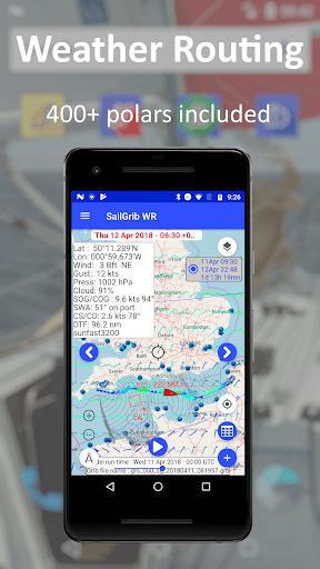 SailGrib Weather Routing Free Apk 2