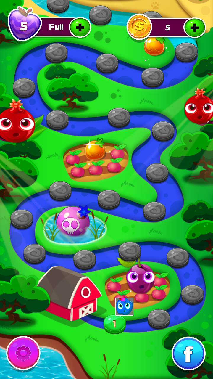 Скриншот Shocking Fruit Match 3