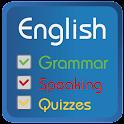 Learn english grammar quick icon