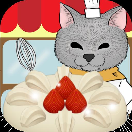 Cute cat's cake shop
