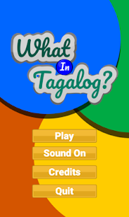 What In Tagalog - náhled
