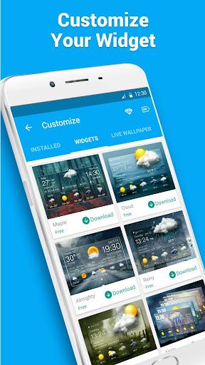 Desktop Weather Clock Widget screenshot 7