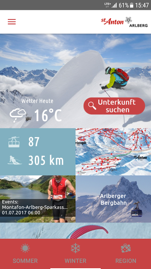 St. Anton am Arlberg- screenshot