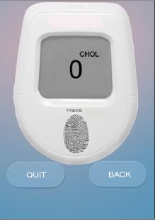 Cholesterol Finger Test - náhled