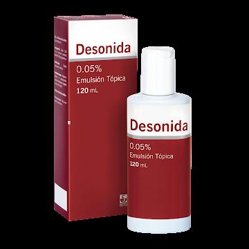 Desonida Siegfried 0.05%   Emulsión Tópica Frasco x120Ml.