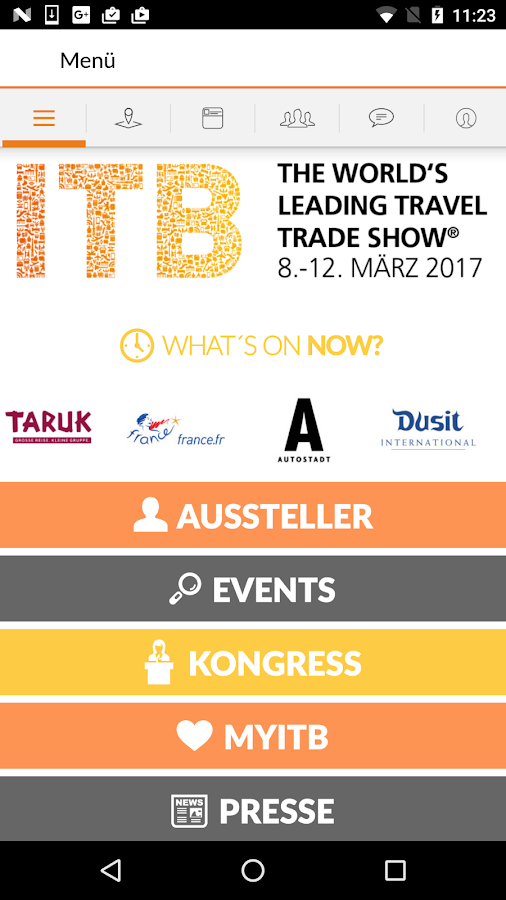 ITB App 2017- screenshot