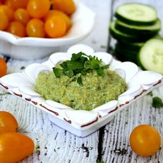 Field of Greens Zucchini Hummus (Raw, Vegan, Gluten-Free, Dairy-Free, Paleo-Friendly)