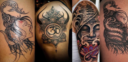 mahadev tattoo shiv tattoo shivay tattoo by destiny hope art design category 1. Black Bedroom Furniture Sets. Home Design Ideas