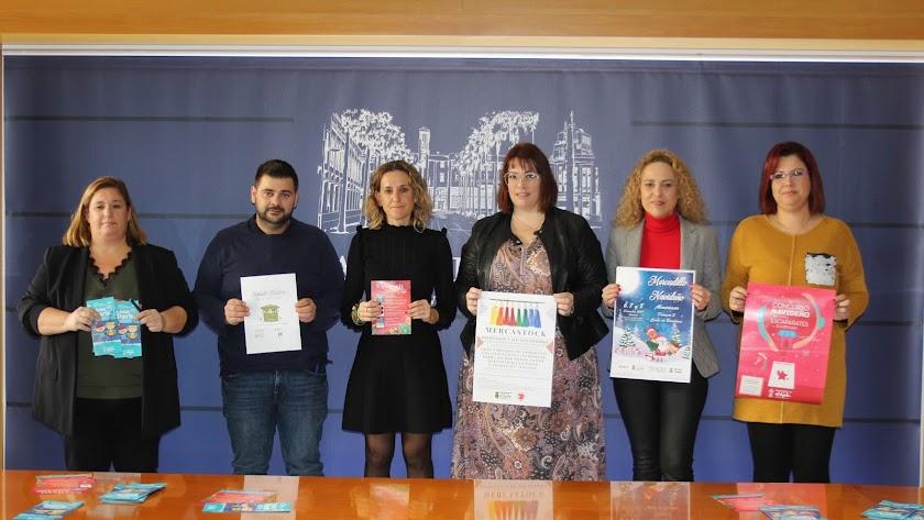 Presentación en el ayuntamiento de las iniciativas comerciales previstas.