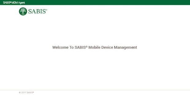 SABIS® Student Tablet Management - náhled