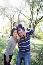 Photo: Jon '06, Stacie and Noah Hackler