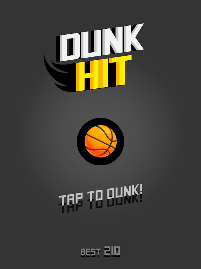 Dunk Hit: captura de tela