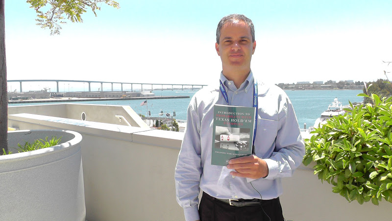 Photo: Did you get a chance to speak with our author, Frederic Paik Schoenberg, about probability? You should see his book: http://www.crcpress.com/product/isbn/9781439827680