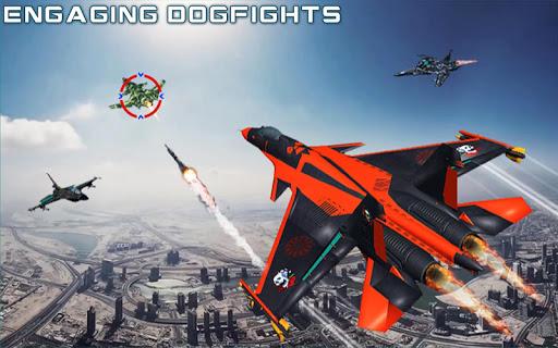 US Air Force Military Pilot Sky Battle 3D filehippodl screenshot 7
