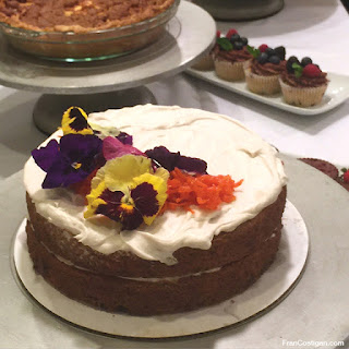 Vegan Carrot Cake for Easter