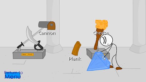 Stealing the diamond, a stickman adventure screenshot 3