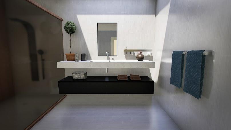Aranżacja łazienki o niewielkim metrażu