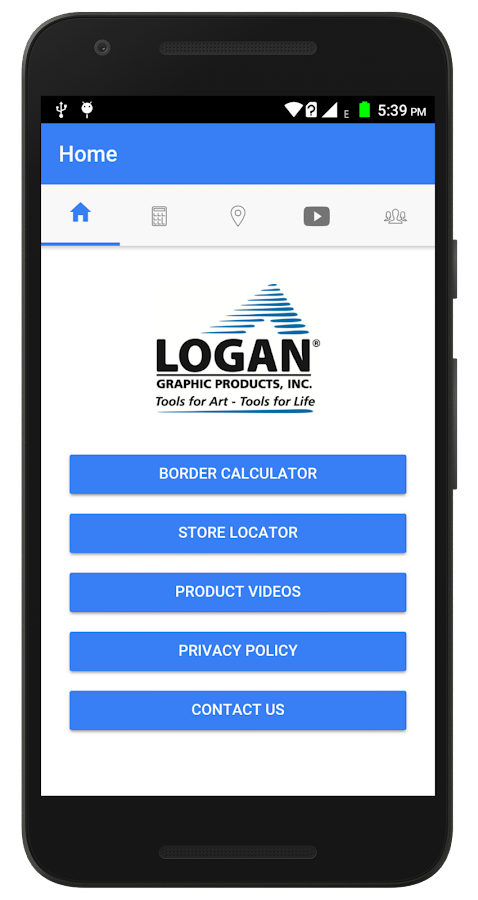 Logan Border Calculator App- screenshot