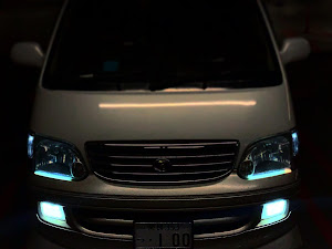 ハイエースワゴン KZH106G スーパーカスタムリミテッド H16年式のカスタム事例画像 ymatyさんの2020年03月30日20:45の投稿