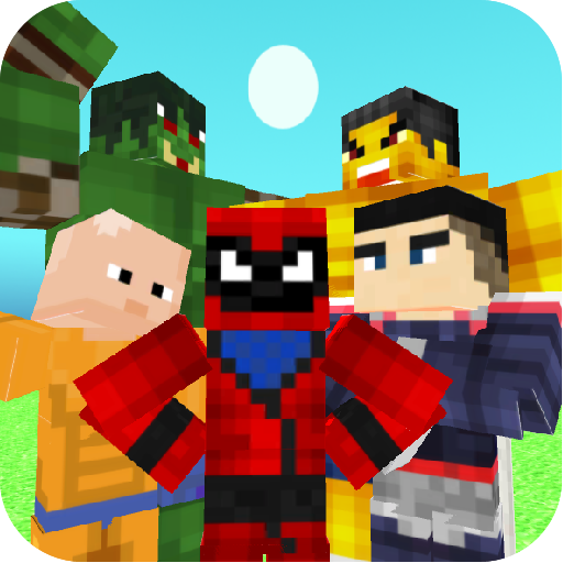 Superhero Champions: Blocky Universe