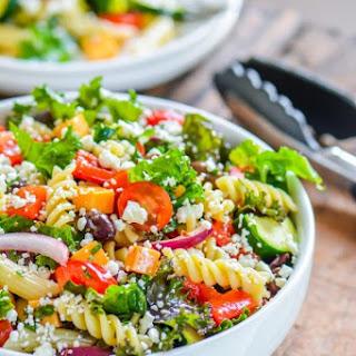 Deli Style Pasta Salad with Kale Recipe