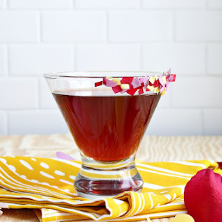 Rose Pomegranate Martini.