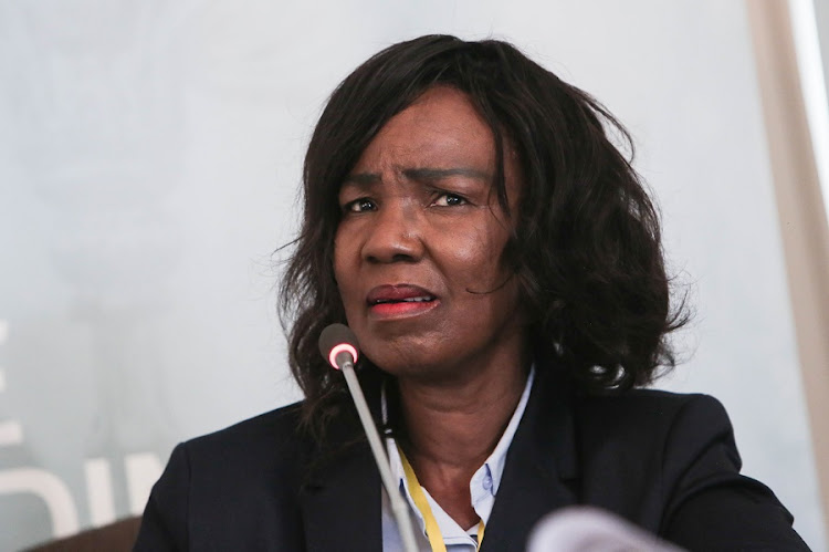 Former Gauteng Director of Mental Health Dr Makgabo Manamela gives testimony at the Life Esidimeni Arbitration hearings in Parktown, Johannesburg. Manamela was responsible for this issuing of licenses to the NGO's where 143 mentally ill patients died. Picture: ALAISTER RUSSELL/THE TIMES