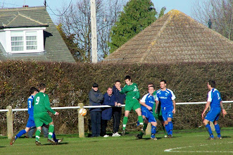 Photo: 26/12/09 v Northampton Spencer (United Counties League Prem Div) 1-0 contributed by Gary Spooner