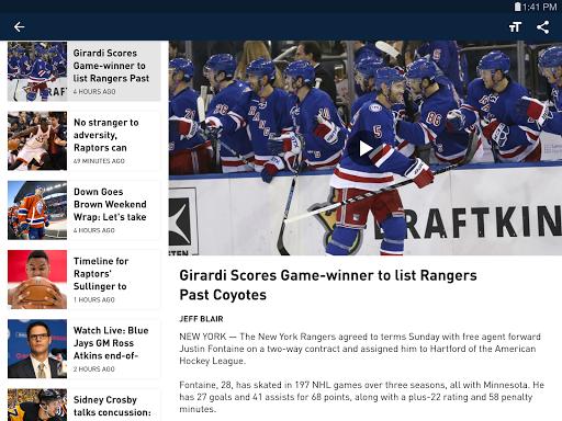 Sportsnet screenshots 7